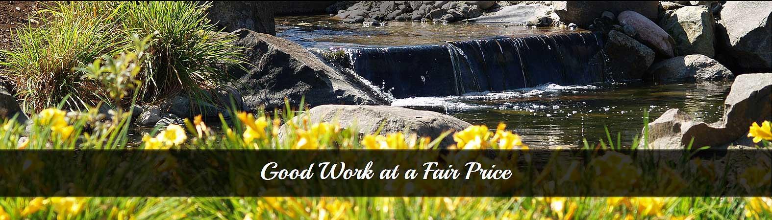 Good Work at a Fair Price